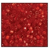 3 Cut Bead (3x) #2300 9/0 95081 Red Satin (1 Bunch)